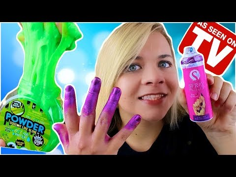AS SEEN ON TV TOY REVIEW! Product Testing!! // SoCassie