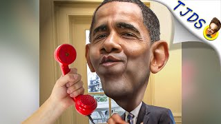 """Obama: """"I'm Waiting For Someone Worse To Endorse""""."""