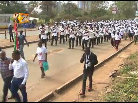 World Kidney Day : Occasion marked at KNH to create awareness on Kidneys and women's health