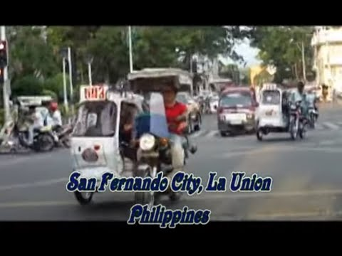 San Fernando City, La Union, Philippines   (plaza, street & market)