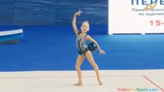 Корпунова Ульяна. Художественная гимнастика. Мяч.