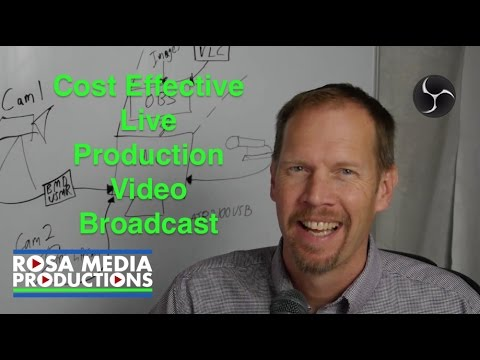 Cost Effective 2 Camera Live Production Video Broadcast