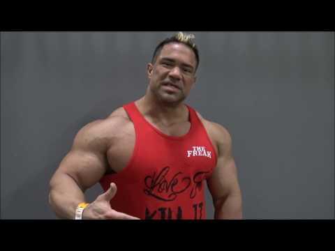 IFBB Pro Bodybuilder PAULO ALMEIDA - 2017 Arnold Classic (Interview)