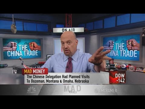 Jim Cramer: Take China trade rumors with a 'grain of salt'