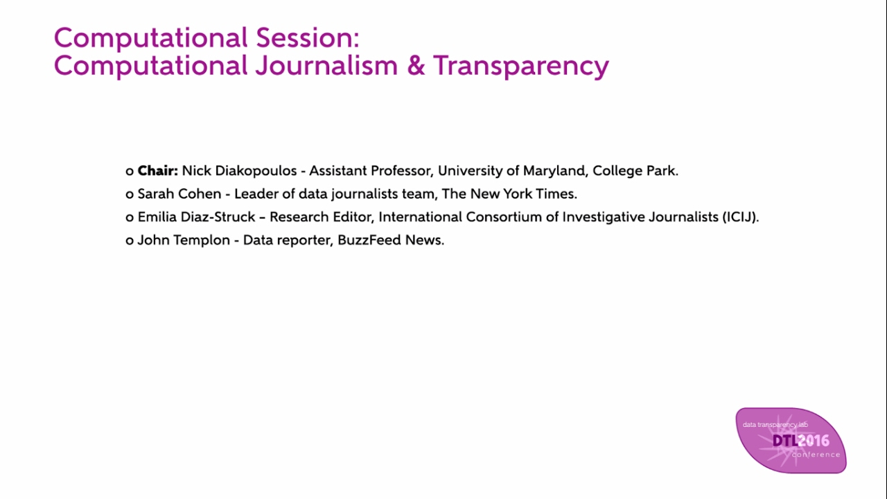 """computational journalism essay This article advances a critical research approach to computational journalism by """"computational journalism"""" the article refers to the increasingly ubiquitous."""