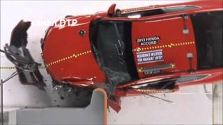 Краш тесты HONDA ACCORD Crash tests HONDA ACCORD