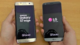 LG G5 vs Samsung Galaxy S7 Edge - Speed Test (4K)