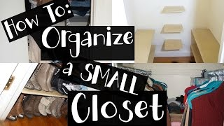 Hiii guys, so here is a fun and different video. How to organize a small closet and give it more storage space. I live in NYC and
