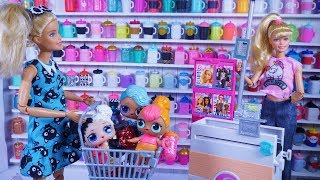 LOL SURPRISE DOLLS Go Bottle Shopping!