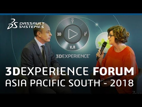 3DEXPERIENCE Forum Asia Pacific South 2018 - Interview with Richard Hamer - Dassault Systèmes