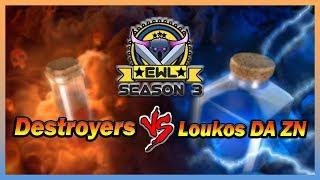 Elite War League S3 W10 | Destroyers VS Loukos DA ZN | Ivory Division | War Recap