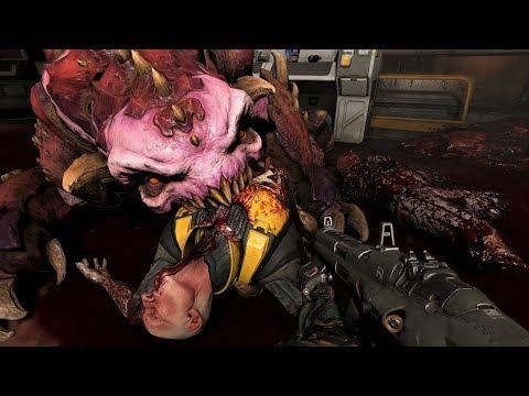 DOOM - Pinky Demon Scene