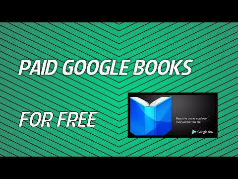 How To get  PAID google books for free!!!