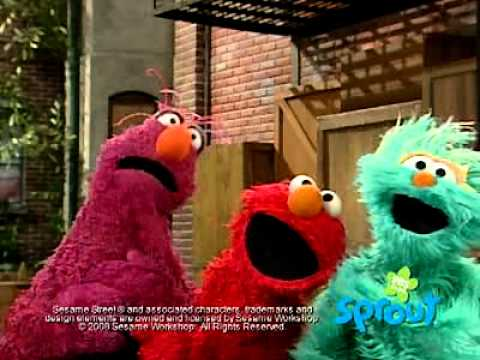 Sesame street games sprout