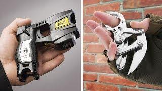 10 اختراعات مذهلة للدفاع عن النفس فى اى وقت