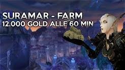 Mehr als 12.000 Gold Alle 60 Minuten | Der Suramar Farm | WoW Gold Farm