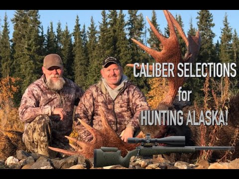 ALASKA BIG GAME Caliber selection