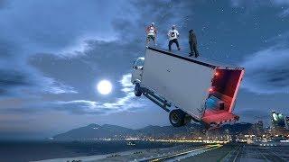 🚚 Anti Gravity Trick - Goofing Around On GTA 5