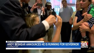 Andy Beshear Announces He Is Running For Governor