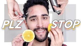 4 Ways To DESTROY Your Skin! Hacks, Ingredients & Products To Avoid! ✖  James Welsh