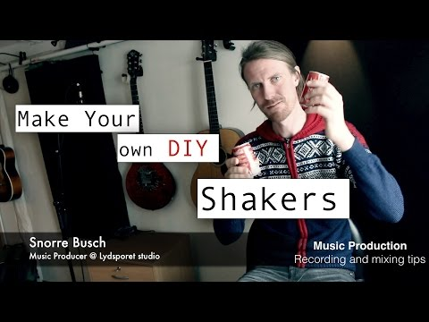 How to make a DIY shaker - Unique Sound - Easy build - Percussion instrument