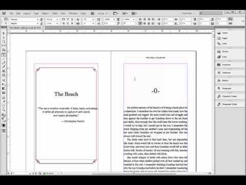 How to Turn Your Manuscript into a Paperback With Adobe InDesign