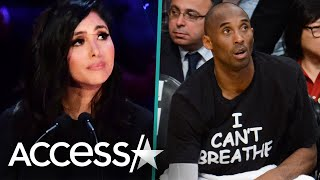 Vanessa Bryant Shares Photo of Kobe w/ 'I Can't Breathe' Shirt Amid Protests