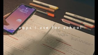 apps i use for school!