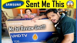 Samsung 7 series 43 inch 4k smart LED TV full review
