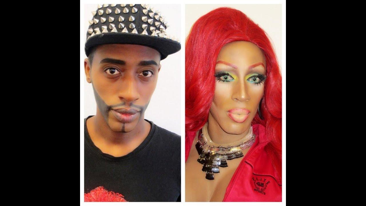 Drag queen makeup tutorial youtube drag queen makeup tutorial baditri Images
