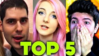 Top 5 Kid-Friendly Minecraft Channels 2017 (Aphmau, LDShadowlady, PrestonPlayz, Popularmmos, DanTDM)