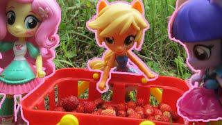 #Куклы пони #Equestria girls. Эквестрия #герлз в лесу