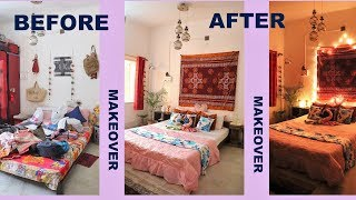 BED AND GUEST ROOM MAKEOVER BEFORE AND AFTER