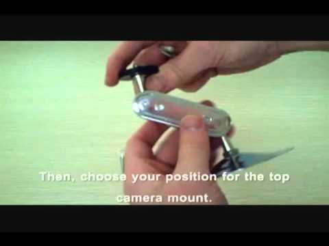 How to - Zmodo P306SV CCTV Bullet Security Camera Bracket Mount Howto