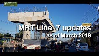 MRT Line 7 update as of March 2019