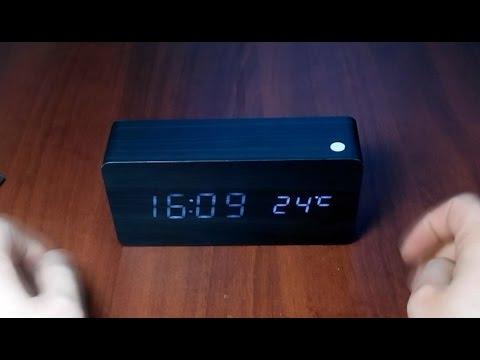 d1a7689e Интересные цифровые часы будильник с термометром с Aliexpress. Покупаем в  Китае