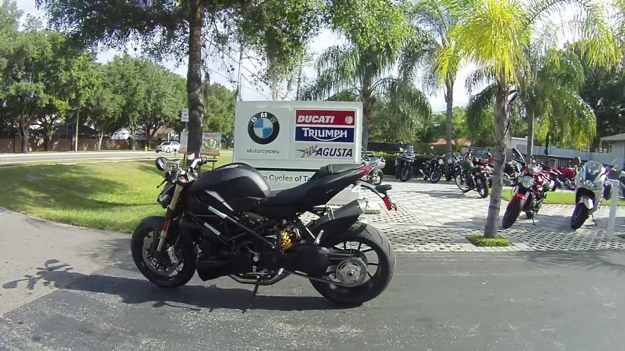 2013 Ducati Streetfighter 848 Black