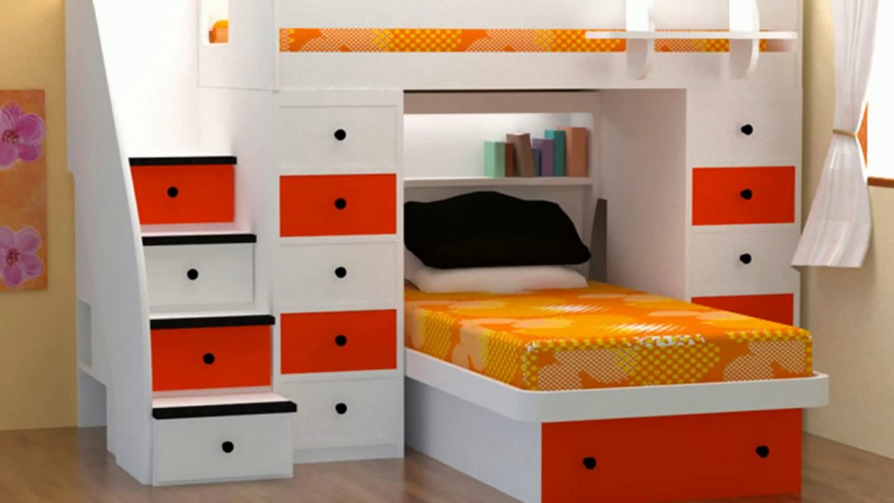 ☑️ [WOW] Incredible Space Saving Bedroom Ideas 9  Small Homes Furniture  IKEA DIY Trends 9