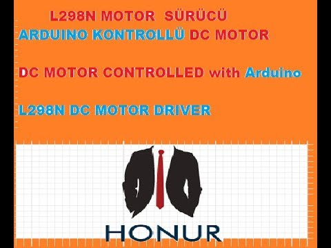 L298N MOTOR DRIVER with Arduino