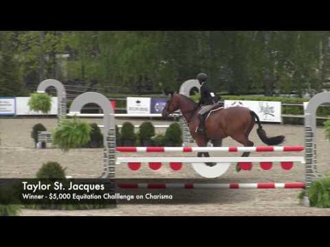 Taylor St. Jacques - Winner Of 2017 $5,000 Equitation Challenge At Old Salem Farm