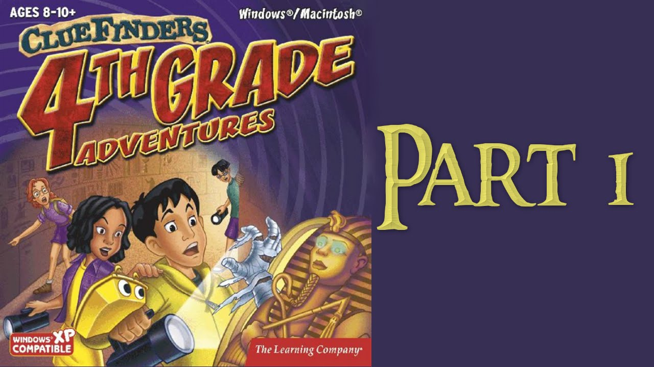 Whoa, I Remember: The ClueFinders 4th Grade Adventures: Part 1