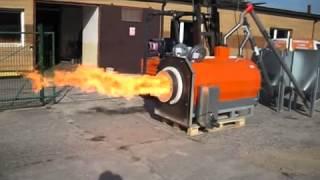 ECO PALNIK  1000kW - работа пеллетной горелки большой мощности - купить в Днепропетровске(, 2015-05-19T09:41:08.000Z)