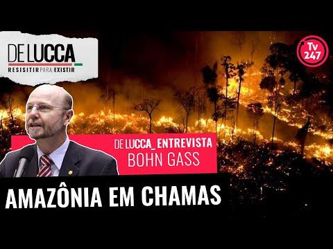 De Lucca entrevista Bohn Gass - Amazônia em Chamas