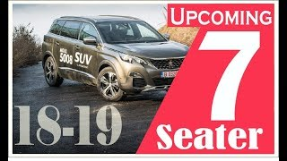 Upcoming New 7 Seater Family Cars in India 2018-2019
