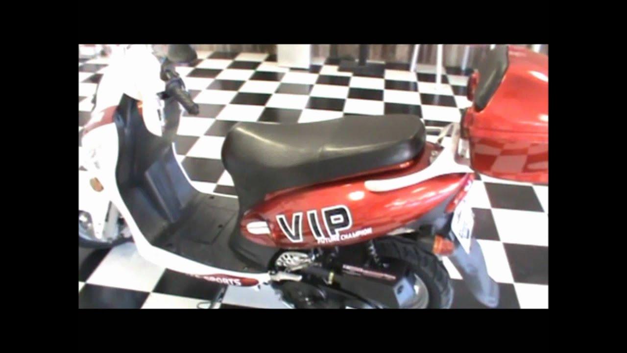 tpgs 804 50cc peace sports scooter [ 1280 x 720 Pixel ]