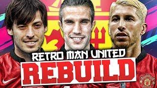 rEBUILDING 2013/14 MANCHESTER UNITED!!! FIFA 14 Career Mode (RETRO REBUILD)