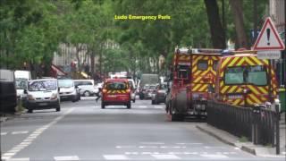 Pompier de PARIS VSAV PS SPVL en urgence ( Paris Fire Dept Emergency Responses