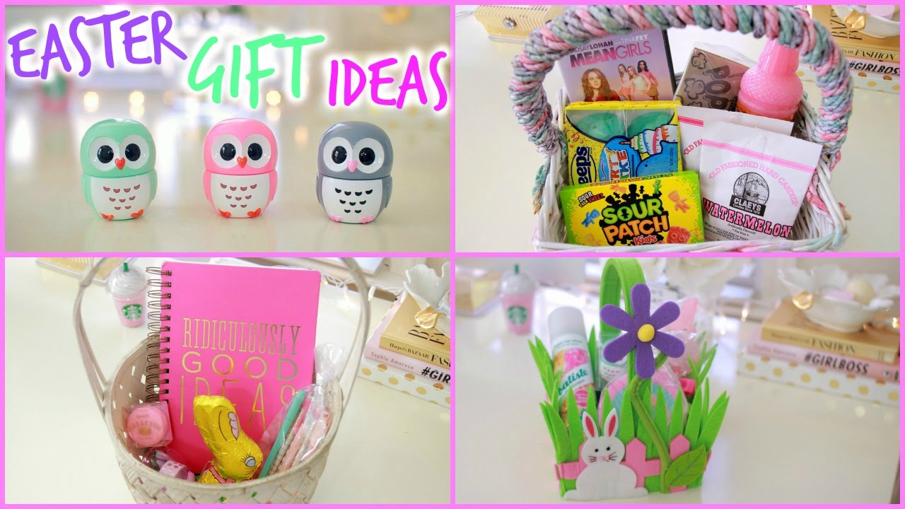 Easter basket ideas easter gift ideas youtube negle Images