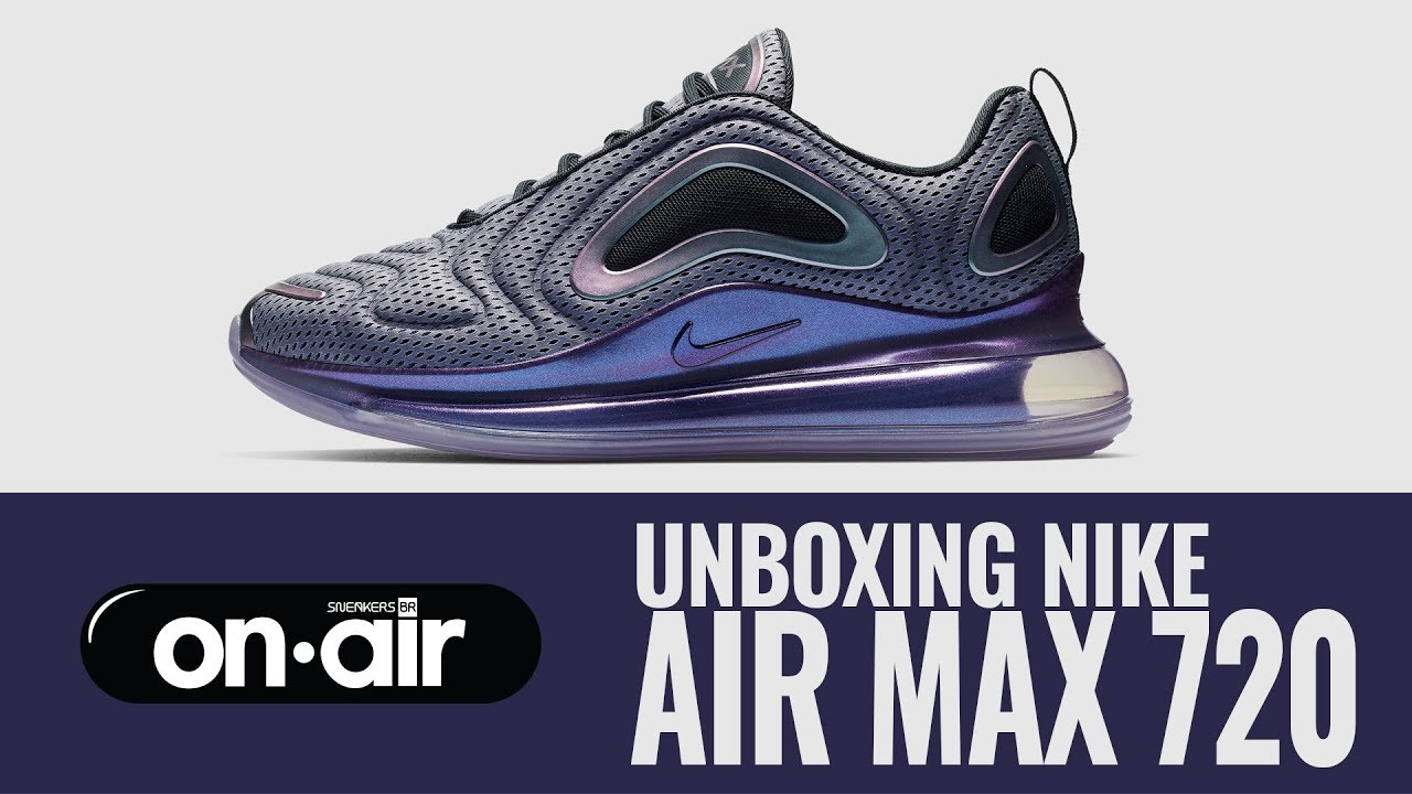 huge selection of 640f7 03869 118 - Unboxing Nike Air Max 720  piranomeuair