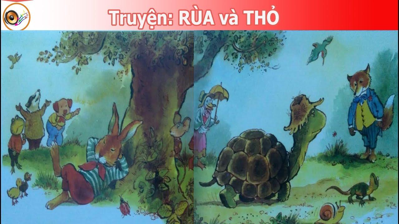Truyện thiếu nhi   Rùa Và Thỏ